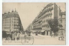 POSTCARD PARIS , RUE DE RENNES