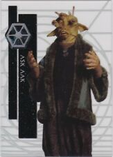 STAR WARS 2015 TOPPS HIGH TEK 53 ASK AAK FORM 1 PATTERN 3 TACTICAL SCREEN
