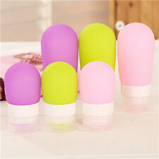 Silicone Travel Packaging Press Bottle Bath Shampoo Container Good Quality UK