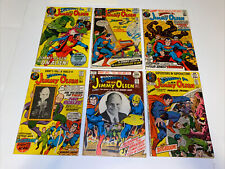 VG+(Superman's Pal Jimmy Olsen) Lot Of 6 / 136,137,139,141,145,147 /  DC Comics