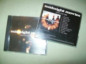 Midnight Movies Promo CD Menge Lion The Girl Patient Eye