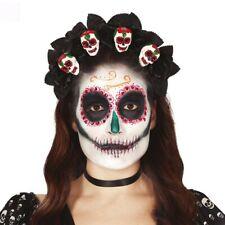 La Catrina Umhängetasche Dia de los Muertos Handtasche Skull Damenhandtasche