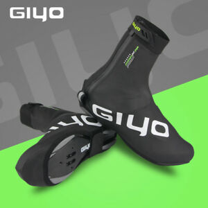 GIYO Winter Cycling Waterproof Shoe Cover Racing Road Bike Overshoes Shoe Covers
