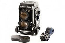 """EXC""  MAMIYA C330S TLR w/ Sekor 65mm F3.5 blue dot Lens, Strap, From japan"