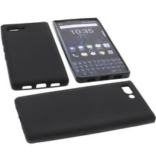 Case for Blackberry Key2 Cell Phone Pocket Cases TPU Rubber Case Black