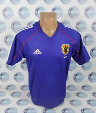 JAPAN NATIONAL TEAM 2002 2004 HOME FOOTBALL SOCCER SHIRT JERSEY BOYS BLUE