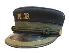 RARE Antique Conductor /Train Engineer Hat, NAMED, LIRR President Long Island RR