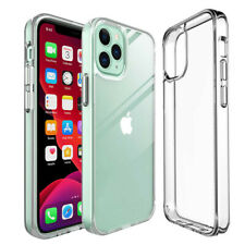 For iPhone 12 Pro Max 11 XS XR X 8 7 SE Translucent Purple Shiny Soft Case Cover
