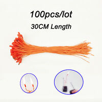 100 pcs 30CM/11.81in match wire for Fireworks Firing System electric wire