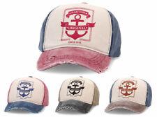 Baseball Cap Anker Vintage Used-Look Caps Used Look Kappe Truckermütze Hat