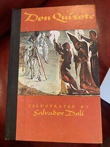 don quixote book Illustrated Salvador Dali 1979