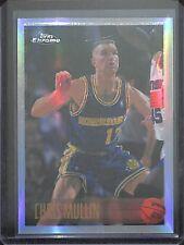 1996-97 Topps Chrome Basketball Refractor #69 Chris Mullin