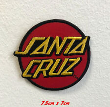 Santa cruz sports art badge clothes Embroidered Iron on Sew on Patch