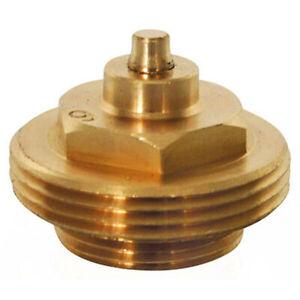 Adapter für Heizungsventil Gampper M22 bis 10mm Tiefe, Typ 1, Messing