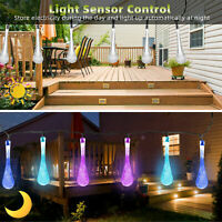 30 LED String Light Outdoor Solar Powered Garden Patio Yard Landscape Lamp Party