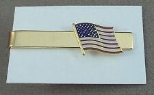 "United States Flag Tie Bar "" Old Glory """