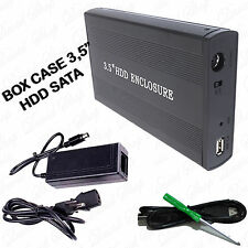 Box Esterno SATA 3,5'' HDD USB 2.0 Case PC Hard Disk ATA 1394