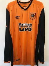 Hull City Shirt 2015/16 Size Large Umbro Excellent Condition  .