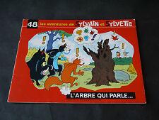 DUBOIS SYLVAIN ET SYLVETTE NOUVELLE SÉRIE N°48 L'ARBRE QUI PARLE 1974
