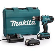 Makita HP457DWE 18V Trapano Avvitatore con Percussione a Batteria