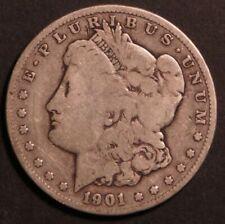 1901 O Circulated Morgan Silver Dollar Coin