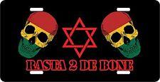 RASTA 2 DE BONE LICENSE PLATE NOVELTY