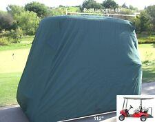 "4 Passenger Golf Cart Storage Cover | EZGO Club Car Yamaha G (Long Roof, 80""L)"