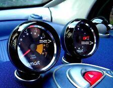 Smart Fortwo 450/2 pieza alu-anillos para reloj-drehzahlm en pulido o cepillado