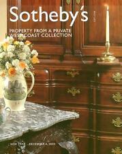 Sotheby's /// American Furniture Folk Art Post Auction Catalog