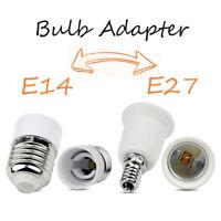 E14 to E27 E14 to E27 Bulb Socket Converter Lamp Adapter Holder LED Fitting Base