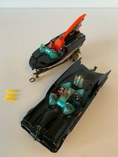 Corgi Toys Gift Set 3, Batmobile & Batboat, Trailer with Figures, early issue