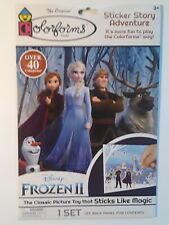 Colorforms Disney Frozen II Sticker Story Adventure 46 pc Brand New Pkg