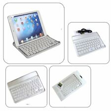 iPad Mini 1 2 3 Bluetooth Keyboard Aluminum Magnetic  Wireless Stand Dock