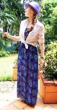 Kirra Peacock Print ModCloth Strapless Sundance Kid Dress Anthropologie Large