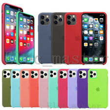 Genuine Original Silicone Case Cover For Apple iPhone X XR XS Max 7 8Plus 11 Pro