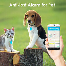 Smart Finder Bluetooth Tracer Pet Child GPS Locator Tag Alarm Key Tracker Blue