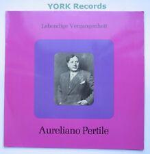 Aureliano Pertile-Excelente Estado Disco Lp LEBENDIGE Vergangenheit LV 46