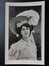 Actress: Miss Dora Barton - Old Postcard