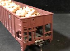HO Santa Fe Hopper With Firewood Load 100% Tested Lot K69