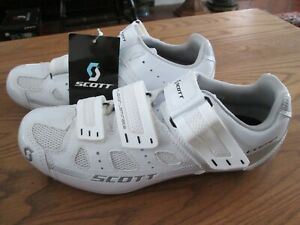 SCOTT Road Comp Lady Cycling Shoes- White Gloss, Size US 8
