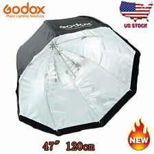 "Godox 120cm 47"" Softbox Octagon Mount For Studio Strobe Camera Flash Us"