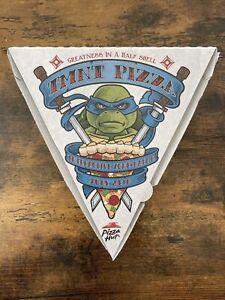 Teenage Mutant Ninja Turtles TMNT Pizza Hut Promotional Box