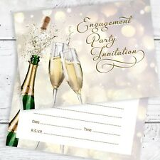 Engagement Party Invitations - Ready to Write with Envelopes (Pack 10)