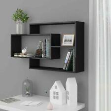 VidaXL Wall Shelves High Gloss Black 104x20x60 Cm Chipboard - 800331