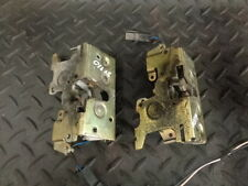2003 MERCEDES-BENZ VITO 112 CDI TURBO VAN PAIR OF REAR DOOR LOCK CATCHES