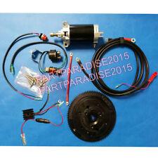 ELECTRIC START KIT fit YAMAHA OUTBOARD E40X 40HP 2 STROKE Enduro 66T FLYWHEEL