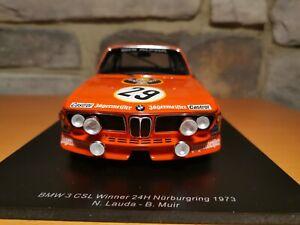 Spark BMW 3.0 CSL Winner 24h Nürburgring 1973 N.Lauda 1:18 18S413 Jägermeister