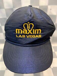 MAXIM Las Vegas Adjustable Adult Cap Hat
