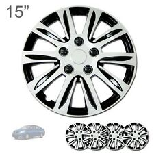"FOR NISSAN NEW 15"" ABS SILVER RIM LUG STEEL WHEEL HUBCAPS COVER 547"