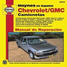 Chevrolet and GMC Camionetas Manual de Reparaci=n (Haynes Automotive Repair Manu